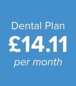 Dental Plan £14.11 per month